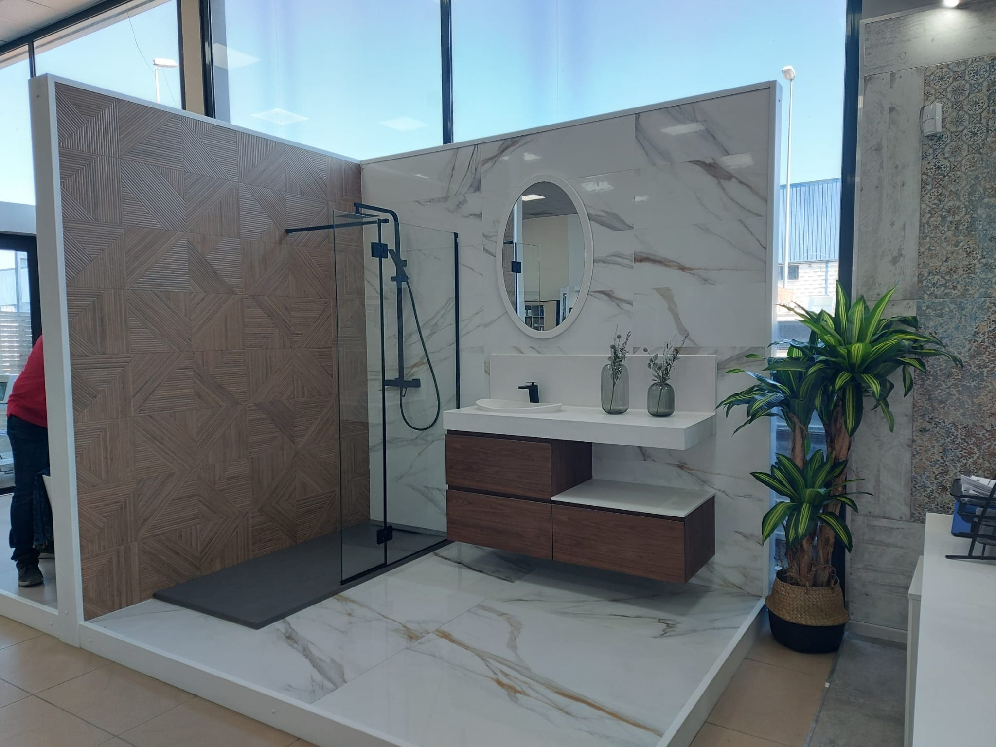 exposicion-banos-ducha-baldosas Exposición Azulejos Cerámica y Baño